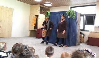 Divadlo Jojo - Vyprávění z pralesa
